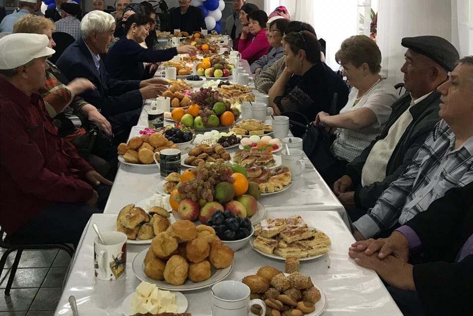 Мероприятие, посвященное в честь  дня пожилых