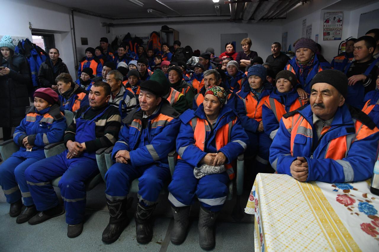 До 30% премиальных будут получать работники ТОО «Астана Тазалық» на праздники
